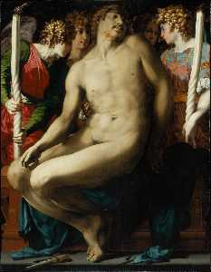 Rosso Fiorentino - Dead Christ with Angels