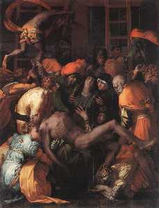Rosso Fiorentino - Deposition from the Cross