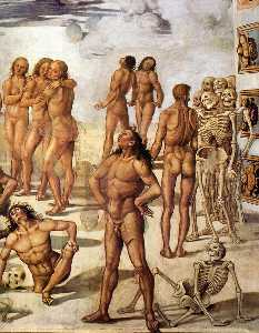 Luca Signorelli - Resurrection of the Flesh..