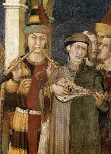 Simone Martini - St. Martin is Knighted (d..