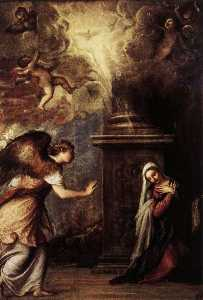 Tiziano Vecellio (Titian) - The Annunciation