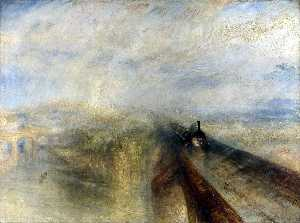 William Turner - Rain, Steam and Speed The..