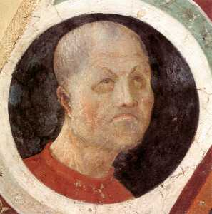 Paolo Uccello - Roundel with Head
