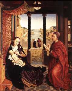 Rogier Van Der Weyden - St Luke Drawing the Portrait of the Madonna