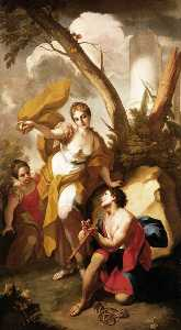 Antonio Balestra - Theseus Discovering his F..