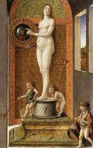 Giovanni Bellini - Four Allegories: Prudence..