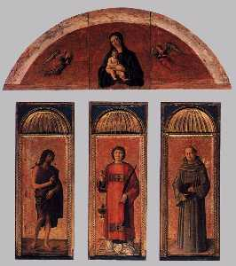 Jacopo Bellini - Triptych of St Lawrence