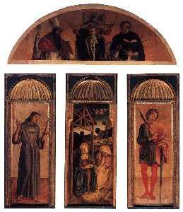 Jacopo Bellini - Triptych of the Nativity