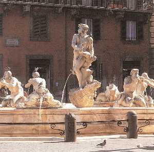 Gian Lorenzo Bernini - Fountain of the Moor