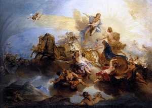 Nicolas Bertin - Phaethon on the Chariot o..