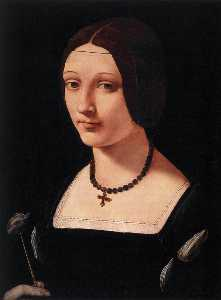 Giovanni Antonio Boltraff.. - Portrait of a Lady as St ..