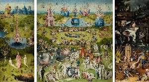 Hieronymus Bosch - Triptych of Garden of Earthly Delights