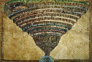 Sandro Botticelli - The Abyss of Hell
