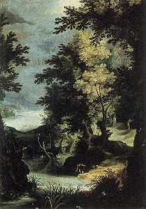 Paul Bril - Landscape with a Mythological Scene