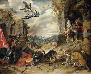 Jan The Younger Brueghel - Allegory of War