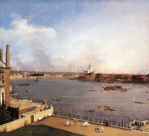 Giovanni Antonio Canal (C.. - London: The Thames and th..