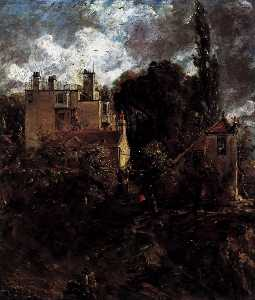 John Constable - The Admiral-s House (The Grove)