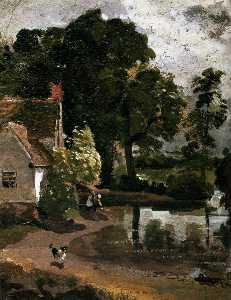 John Constable - Willy Lot-s House