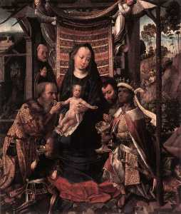 Colijn De Coter (Colyn Va.. - The Adoration of the Magi