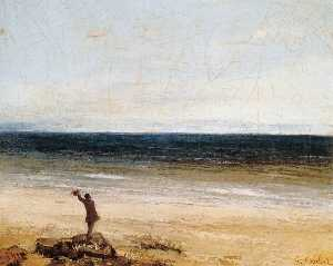 Gustave Courbet - The Sea at Palavas