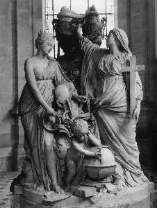 Guillaume Ii Coustou - Monument to the Dauphin