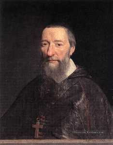 Philippe De Champaigne - Portrait of Bishop Jean-P..