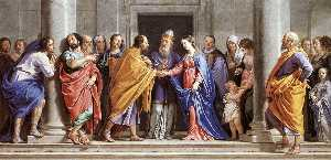 Philippe De Champaigne - The Marriage of the Virgi..