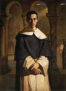 Théodore Chassériau - Reverend Father Dominique Lacordaire
