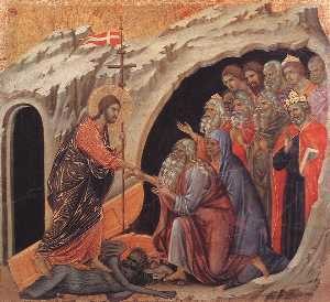 Duccio Di Buoninsegna - Descent to Hell