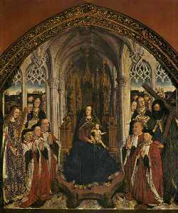 Lluis Dalmau - Altarpiece of the Councillors