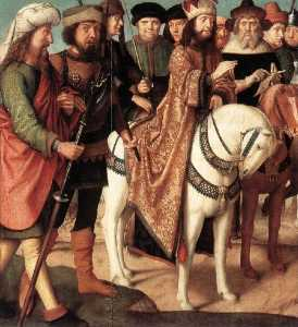 Gerard David - Pilate's Dispute with the..