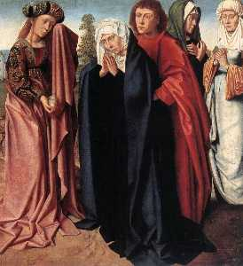 Gerard David - The Holy Women and St Joh..
