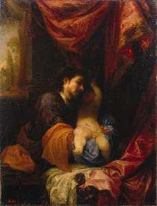 Juan Antonio Frias Y Escalante - St Joseph and the Infant Chris..
