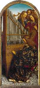 Jan Van Eyck - The Ghent Altarpiece: Ang..