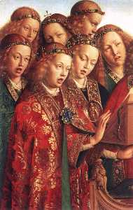 Jan Van Eyck - The Ghent Altarpiece: Sin..