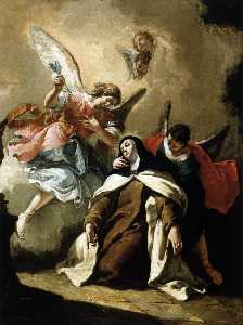 Francesco Fontebasso - The Ecstasy of St Therese