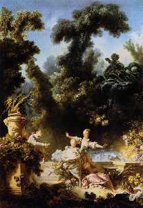 Jean-Honoré Fragonard - The Progress of Love: The..