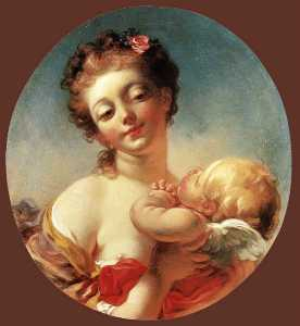 Jean-Honoré Fragonard - Venus and Cupid