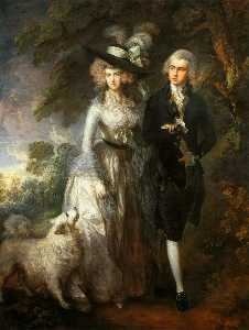Thomas Gainsborough - Mr and Mrs William Hallet..