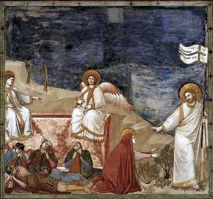 Giotto Di Bondone - No. 37 Scenes from the Life of Christ: 21. Resurrection (Noli me tangere)
