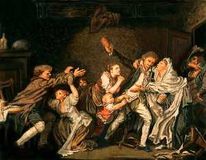 Jean-Baptiste Greuze - The Father's Curse: The U..