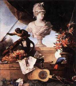 Jean-Baptiste Oudry - Allegory of Europe
