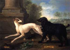 Jean-Baptiste Oudry - Misse and Luttine