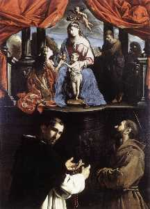 Pietro Paolini - The Mystic Marriage of St Catherine of Alexandria