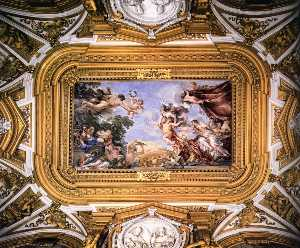 Pietro Da Cortona - Ceiling of the Hall of Venus