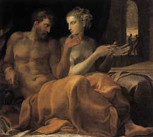 Francesco Primaticcio - Ulysses and Penelope