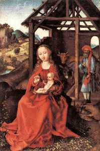 Martin Schongauer - The Holy Family