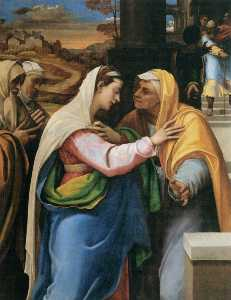 Sebastiano Del Piombo - The Visitation