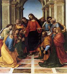 Luca Signorelli - Communion of the Apostles