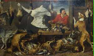 Frans Snyders - Game Stall